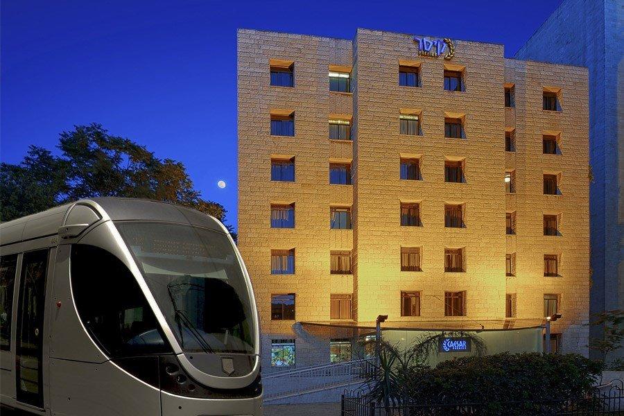 מלון קיסר ירושלים - הרכבת הקלה