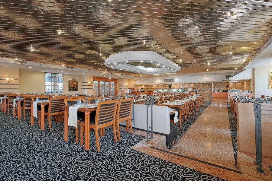 מלון קיסר טבריה - חדר אוכל