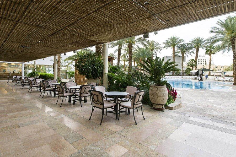 מלון קיסר אילת - שפת הבריכה