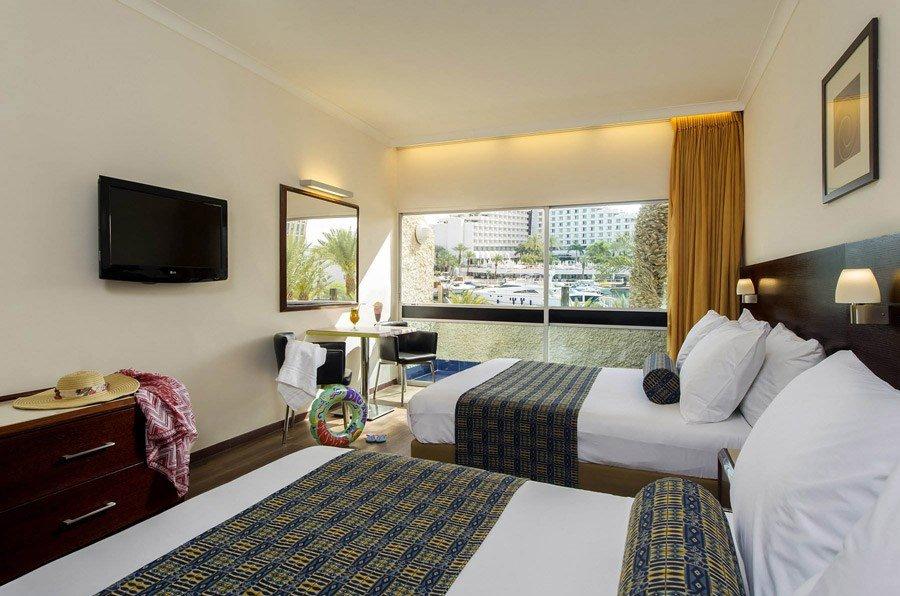 מלון קיסר אילת - 2 מיטות זוגיות