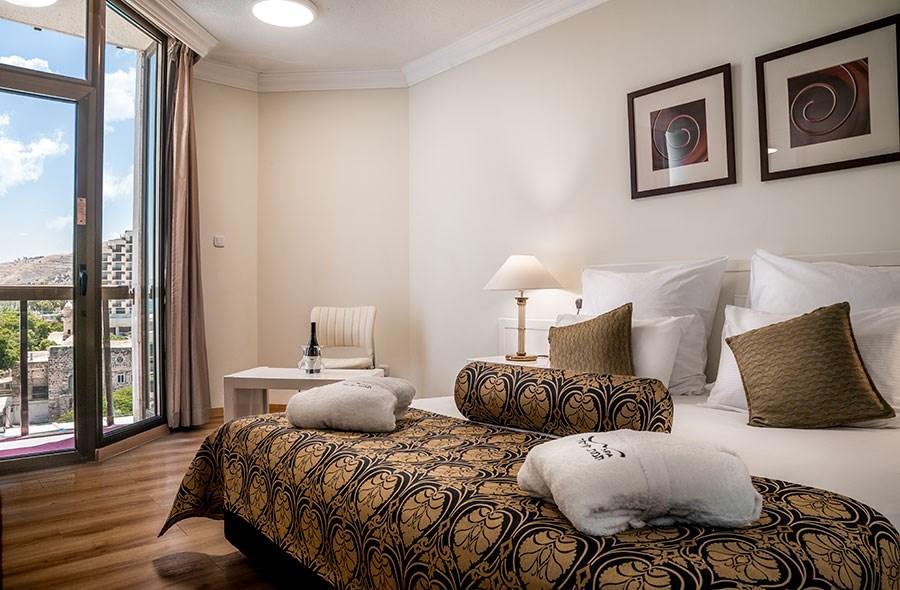 סוויטה זוגית - חדר שינה מפנק